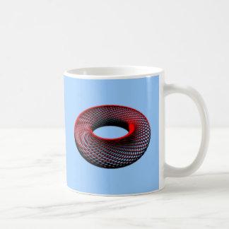 Ring wire torus wire mug