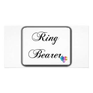 Ringbearer-box Photo Cards