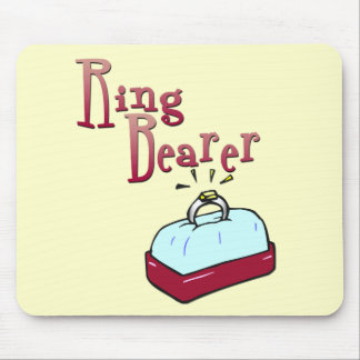 Ringbearer Favours and Tee Shirts Mouse Pad