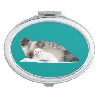 Ringed Seal Vanity Mirror