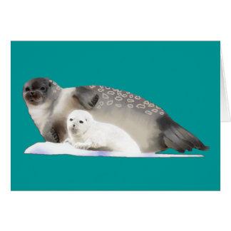 Ringed Seal Greeting Card
