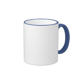 RINGER BLUE P MUG gift Template + color text image