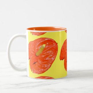 Ringer Mug - Chinese Lantern