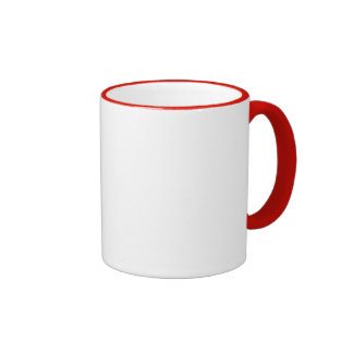 RINGER RED MUG gift Template + color text image