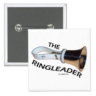 Ringleader 15 Cm Square Badge