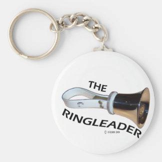 Ringleader Basic Round Button Key Ring