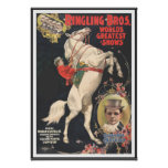 Ringling Bros 1899 CIRCUS POSTER