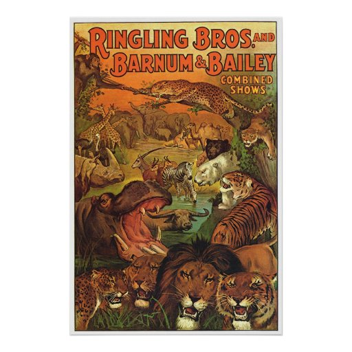 Ringling Bros and Barnum & Bailey Combined Shows Print