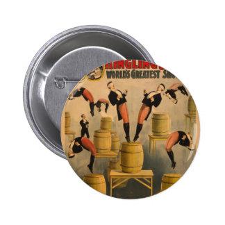 Ringling Bros Raschetta Bros Pinback Buttons