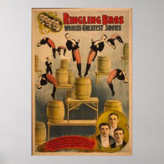 Ringling Bros. / Raschetta Bros. Poster
