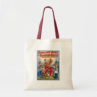 Ringling Brothers & Barnum & Bailey Vintage Clown Canvas Bags