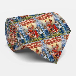Ringling Brothers & Barnum & Bailey Vintage Clown Tie