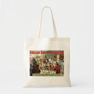 Ringling Brothers Circus Joan of Arc Spectacular Tote Bag
