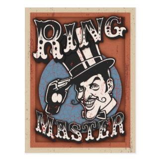Ringmaster II Postcard