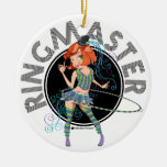 Ringmaster (Redhead) ornament