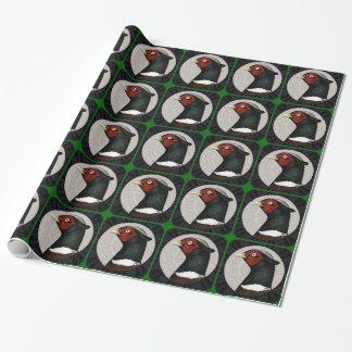 Ringneck Pheasant Circle Wrapping Paper