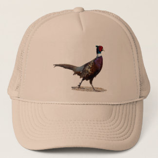 Ringnecked Pheasant Trucker Hat
