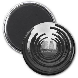 Rings 6 Cm Round Magnet