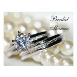 Rings and Pearls Bridal Shower Invitation