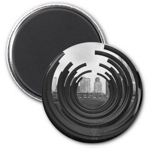 Rings Refrigerator Magnet