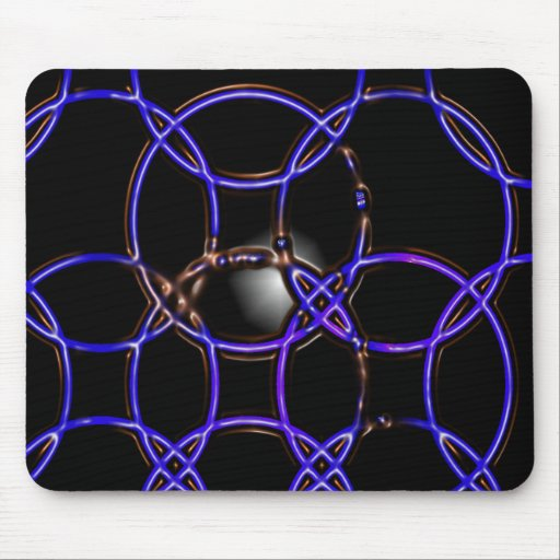 Rings Mouse Mat