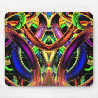Rings of Illumination Mouse Pad