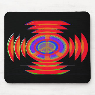 Rings of Peace Mouse Pad