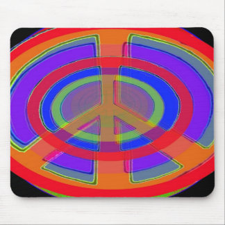Rings of Peace Mouse Pads