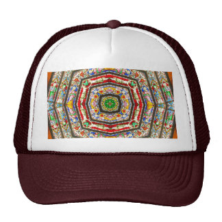 Rings of Stained Glass Trucker Hat