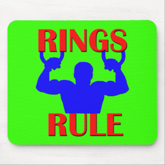 Rings Rule Mouse Pads