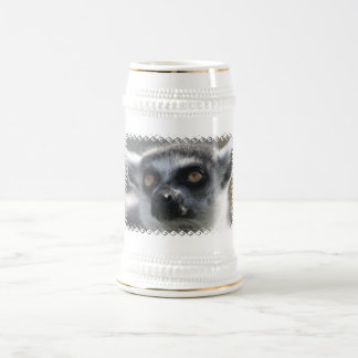Ringtail Lemur  Beer Stein Mugs