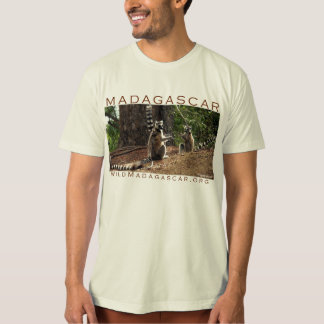 Ringtail lemurs in Madagascar T-Shirt