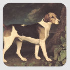 Ringwood, a Brocklesby Foxhound, 1792 Square Sticker