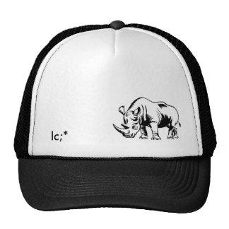 Rino1LC; * Hats