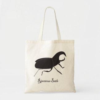 Rino Beetle Tote Canvas Bag