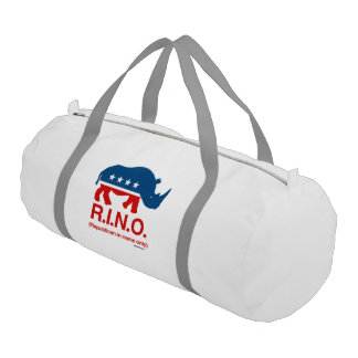 RINO - Republican in name only Gym Duffel Bag