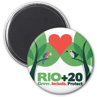 Rio +20 Grown, Include, Protect Magnets