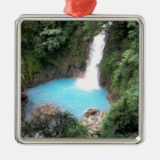 Rio Celeste Falls Christmas Ornament