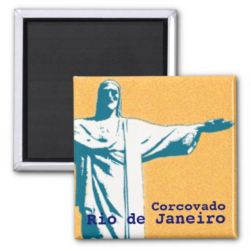 Rio / Corcovado / Jesus Christ the Redeemer Magnets