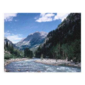 Rio de Animas in the San Juan Mountains Colorado Personalized Flyer