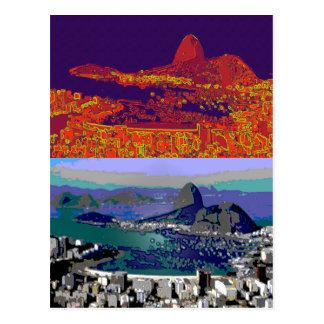 Rio de Janeiro Brasil Pão-de-Açúcar Post Cards