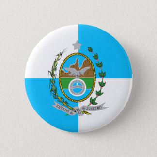 Rio de Janeiro, Brazil 6 Cm Round Badge