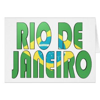 Rio de Janeiro, Brazil Card
