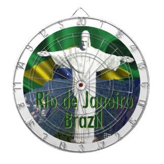 Rio de Janeiro Brazil Dartboard