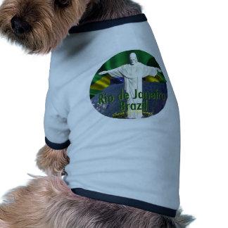 Rio de Janeiro Brazil Dog Tee Shirt