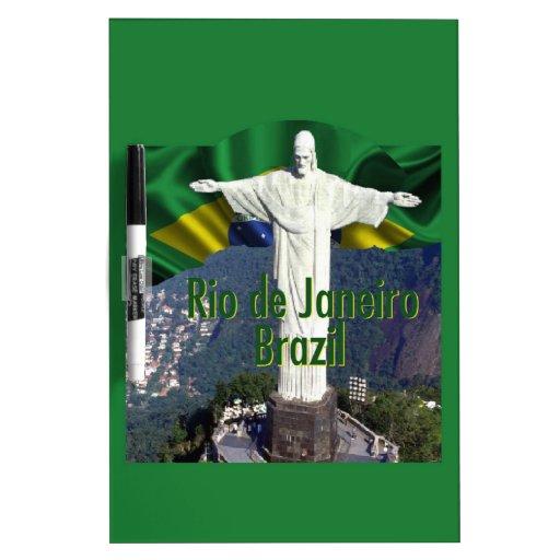 Rio de Janeiro Brazil Dry-Erase Whiteboards