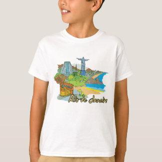 Rio de Janeiro, Brazil Famous City T-Shirt