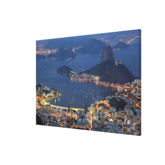 Rio de Janeiro, Brazil Gallery Wrapped Canvas