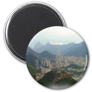 Rio de Janeiro - Brazil Magnet