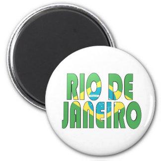 Rio de Janeiro, Brazil Refrigerator Magnets